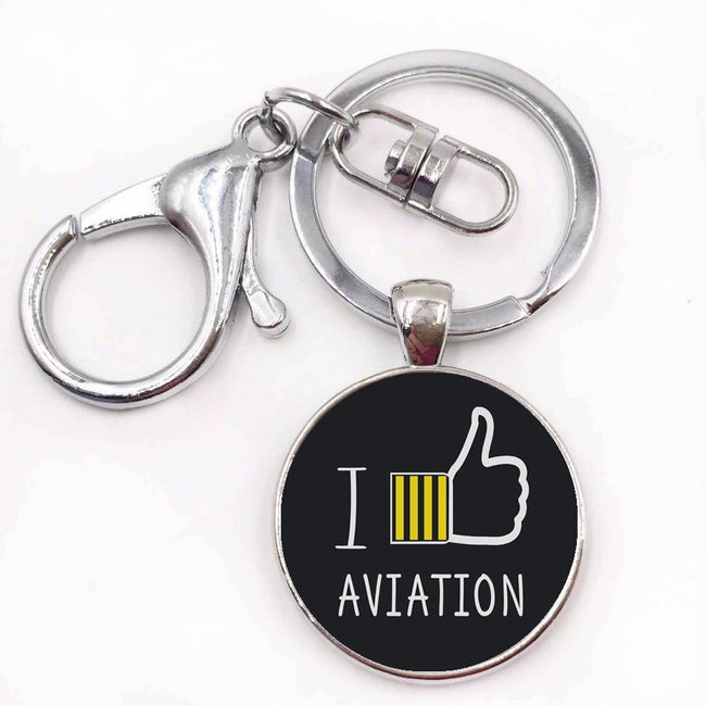 In Aviation Designed Key Chains