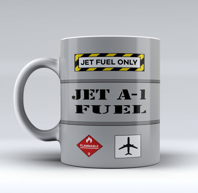 Jet Fuel Only Designed Mugs