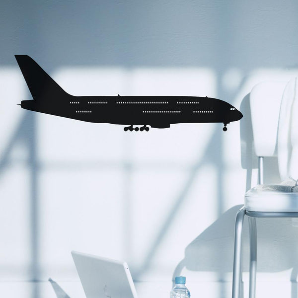 Landing Airbus A380 Designed Wall Stickers