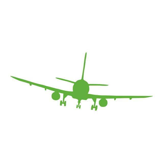 Landing Aircraft Designed Wall Stickers