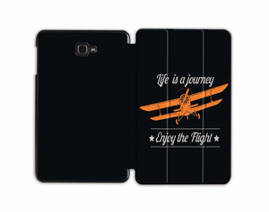 Life's A Journey, Enjoy The Flight Designed Samsung Cases