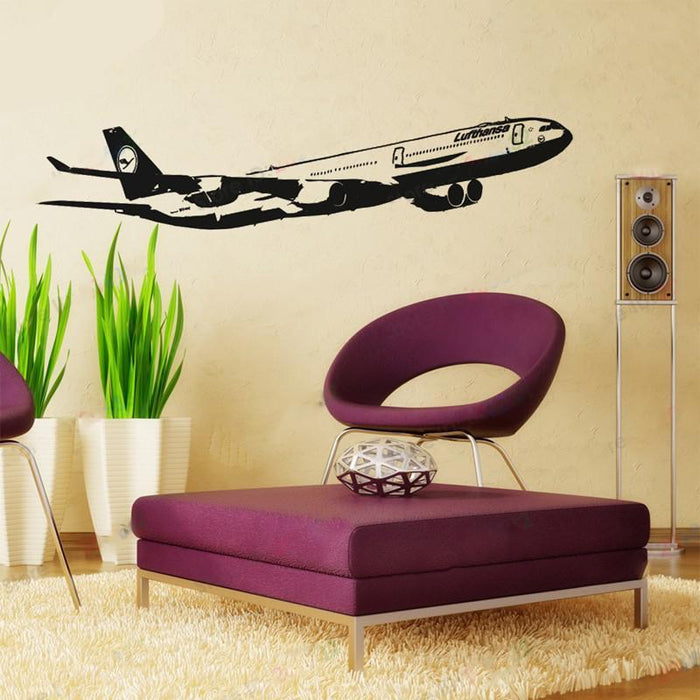 Lufthansa's Airbus A340 Designed Wall Sticker