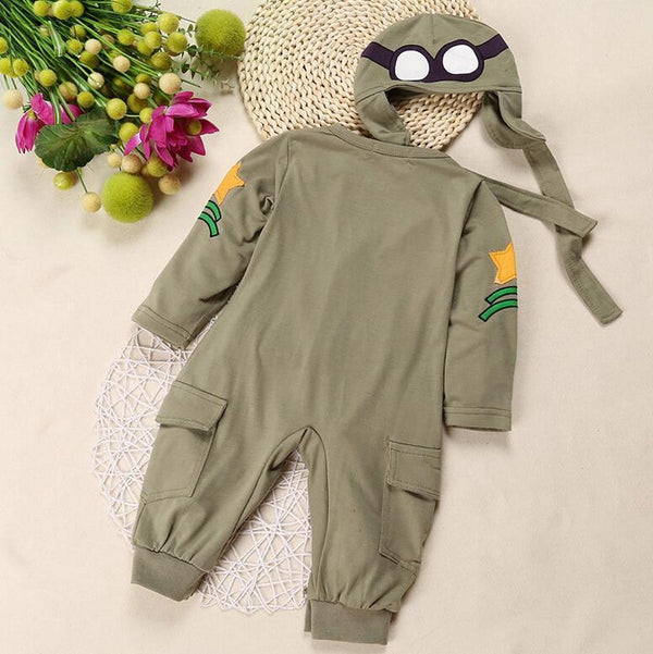 Military Pilot Designed Baby Rompers