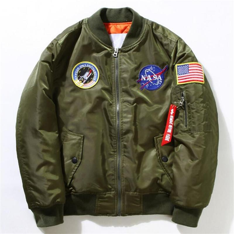 NASA Designed Winter (Thick) Pilot Bomber Jackets