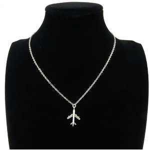"Necklace - 18"" Luxury Airplane Pilot Necklace"