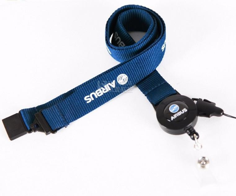 NEW Airbus Blue Lanyard & ID Holder