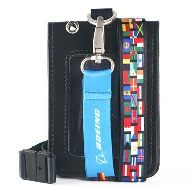 New Boeing & Jeppesen Lanyard & ID Holders