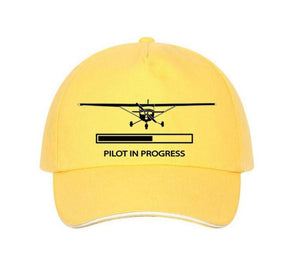 Pilot In Progress (Cessna) Designed Hats