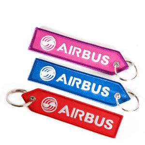 AIRBUS & Logo (Remove Before Flight at back) Designed Key Chains