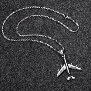 Stainless Steel & Super Quality Airplane Shape Necklaces