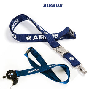 Super Quality Airbus Blue Lanyard & ID Holders