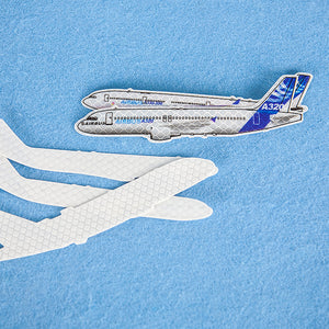 Reflective A320 / A330 / A340 / A350 / A380 Sticker