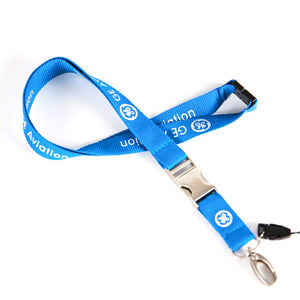 GE Aviation Engine Designed Lanyard & ID Holder