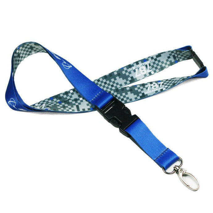 Genuine & Unique Style BOEING 787 Lanyard & ID Holder
