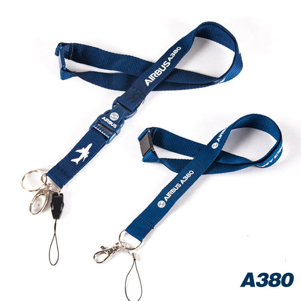 Super Airbus A380 Designed Lanyard & ID Holder