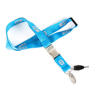 CFM (Blue) Designed Lanyard & ID Holder