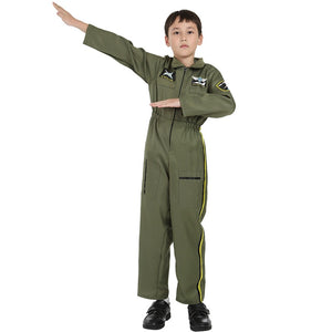 Top Gun & Air Force & Fighter Jet Designed Uniform for Kids