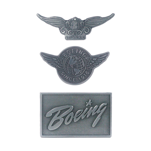 Super Quality Boeing Airplane Brand Theme Designed Badges