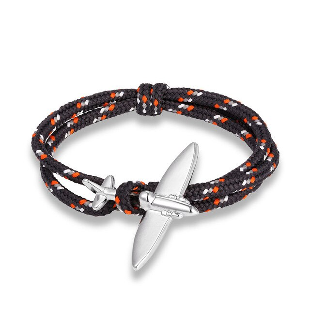 (Edition 4) - Thinner & Small Airplane Designed Bracelets (Adjustable)