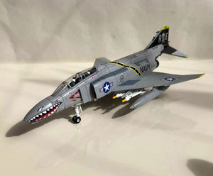 1/100 Scale F-4 Phantom II VF-84 Jolly Rogers Fighter Airplane Model
