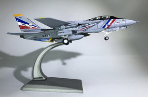 "1/100 Scale USA F-14 ""Tomcat"" Fighter VF-2 Bounty Airplane Model"