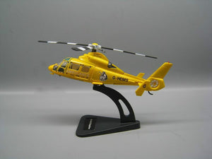 1/100 Scale Eurocopter AS 365 Dolphin Medium Utility Helicopter Model