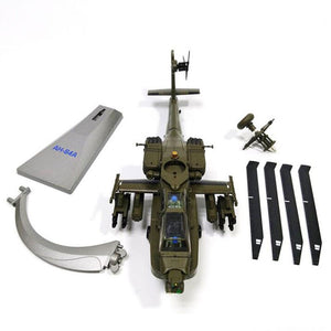 1/72 Scale Black Hawk AH-64 APACHE Helicopter Model