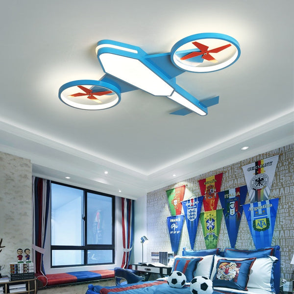 Futuristic Ceiling Type Airplane Shape Wall Lamp