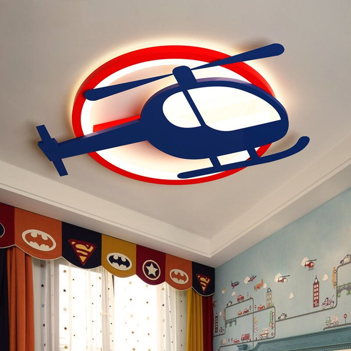 Helicopter Shape & Ceiling Type Wall Lamps