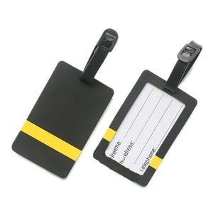 Pilot - One Line Designed Rubber Luggage Tags