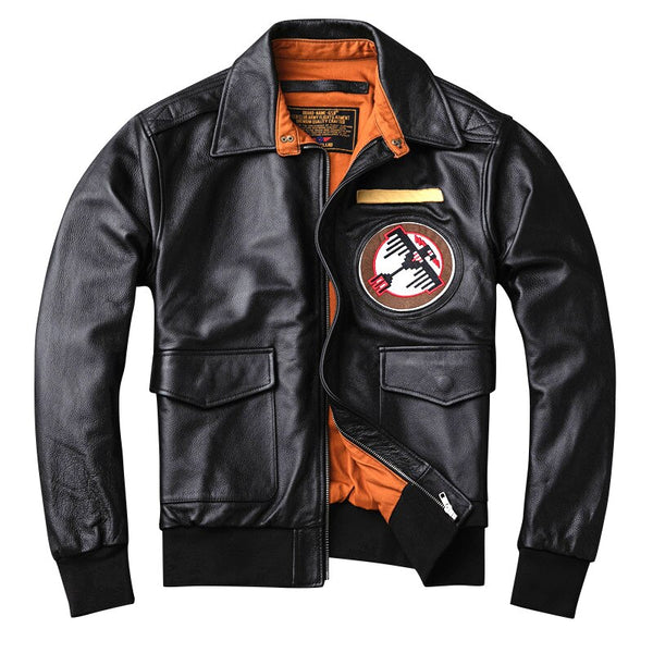 Super Fighter Jet Designed Genuine Leather Jackets