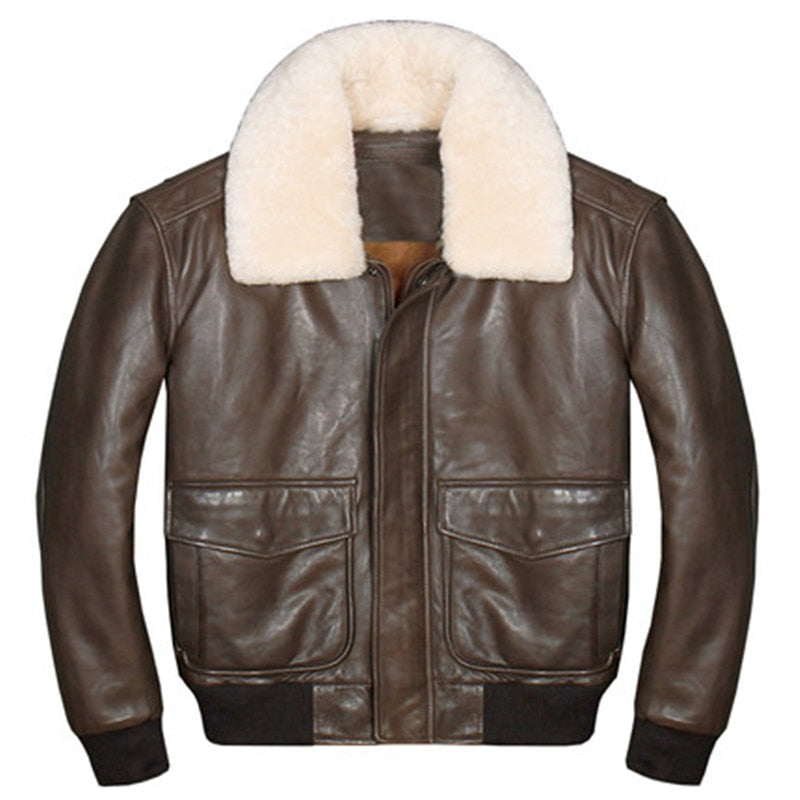 Genuine Sheepskin Air Force Pilot Designed Jackets