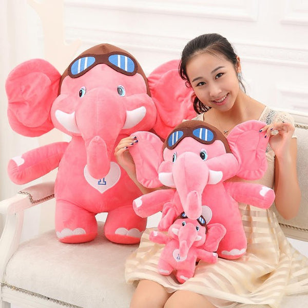 Super Cute Elephant Pilot Toys