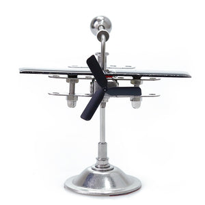 Creative Hi-Tech Solar Powered Propeller Designed Desktop Decoration