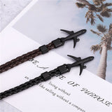 (Edition 5) Super Quality Leather Style Airplane Bracelets