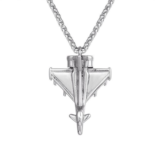 Military Aircraft Designed Super Cool Necklace
