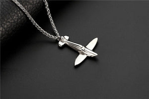 Small Airplane Designed Super Cool Necklace