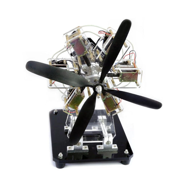 Super Creative Desktop & Decorative Electronic Jet Engine & Propellers