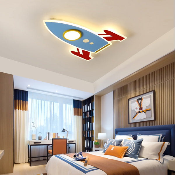 Acrylic Space Shuttle Designed LED Ceiling Wall Lamp