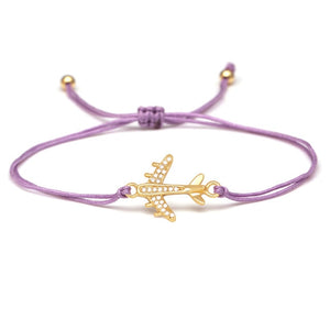Super Quality & Stylish Airplane Shape Bracelets