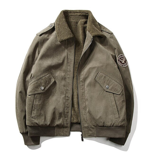 Super Soft Winter Style Pilot Bomber Jackets