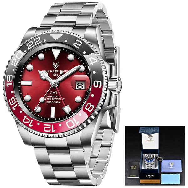Automatic Mechanical Stainless Steel Watches