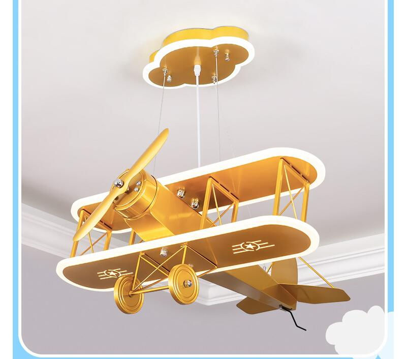 Super Cool Designed Double-Decker Airplane Style Wall Lamp