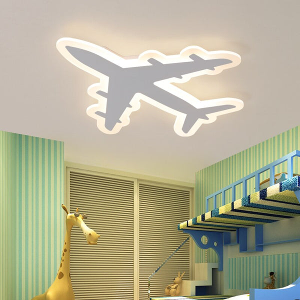 Acrylic Airplane Designed LED Ceiling Wall Lamp