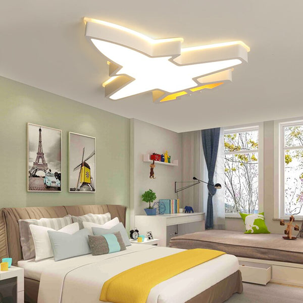 Acrylic Fighter Jet Designed LED Ceiling Wall Lamp