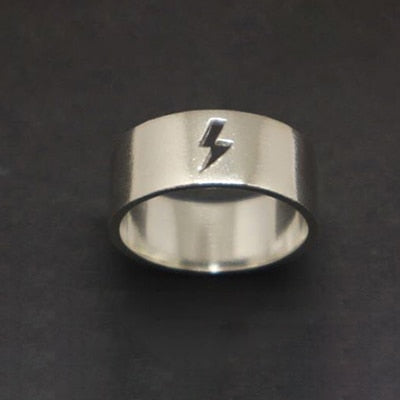 Amazing Lightning Symbol Airplane Ring FOR MEN