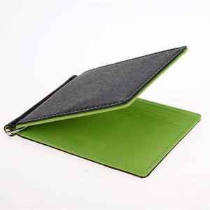 PU Leather Stylish Wallets Pilot Eyes Store Green