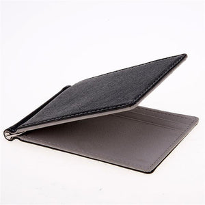PU Leather Stylish Wallets Pilot Eyes Store Gray
