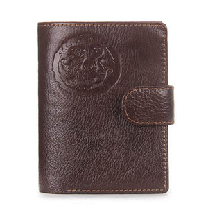 Leather Passport Holder & Wallet Pilot Eyes Store Brown Piloteyes737