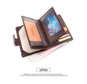 Leather Passport Holder & Wallet Pilot Eyes Store